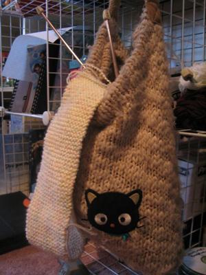 Knitting work in progress