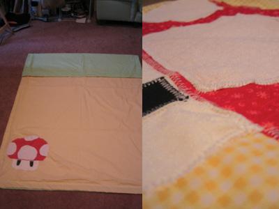 Shroom blanket